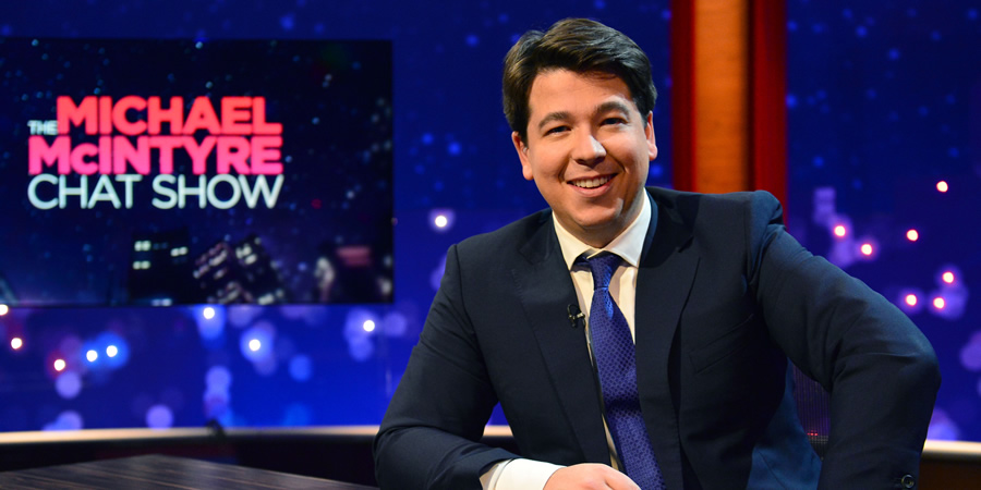 The Michael McIntyre Chat Show. Michael McIntyre. Copyright: Open Mike Productions.
