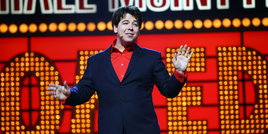 Michael McIntyre's Comedy Roadshow. Michael McIntyre. Copyright: Open Mike Productions.