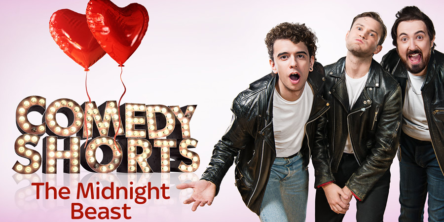 The Midnight Beast's Valentine. Image shows from L to R: Mookie (Stefan Abingdon), Dandy (Ashley Horne), Putsey (Andrew Wakely).