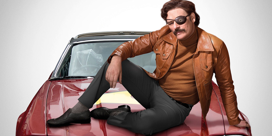 Mindhorn. Richard 'Mindhorn' Thorncroft (Julian Barratt). Copyright: Studio Canal.