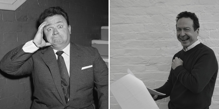 Image shows from L to R: Harry Secombe, Andrew Secombe. Copyright: BBC.