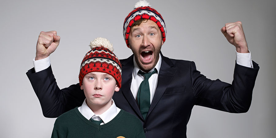 Moone Boy. Image shows from L to R: Martin (David Rawle), Sean Murphy (Chris O'Dowd).