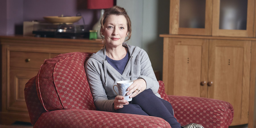 Mum. Cathy (Lesley Manville).