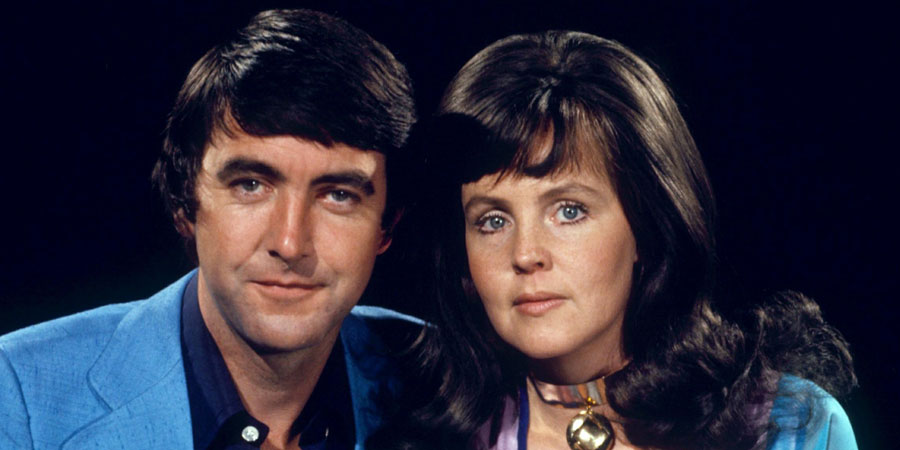 No - Honestly. Image shows from L to R: Charles Danby (C.D.) (John Alderton), Clara (Pauline Collins). Copyright: London Weekend Television.