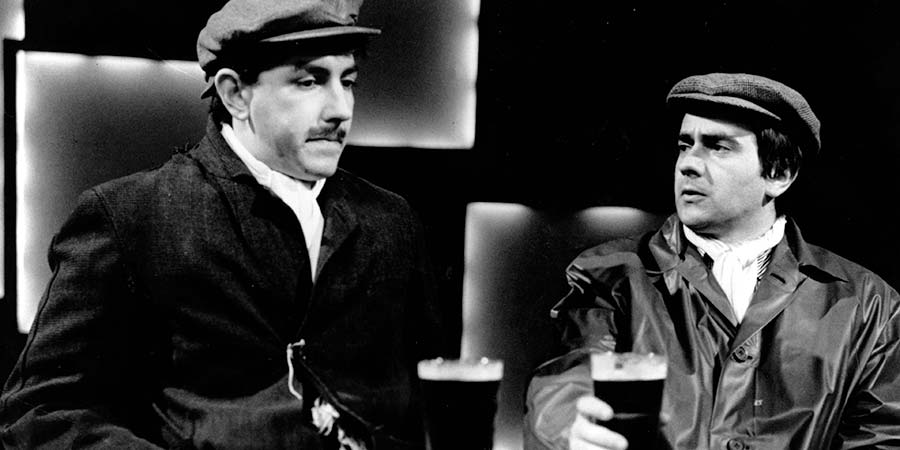 Not Only... But Also.... Image shows from L to R: Peter Cook, Dudley Moore. Copyright: BBC.