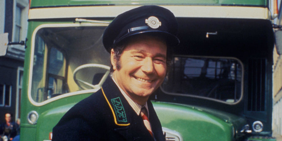 On The Buses. Stan Butler (Reg Varney). Copyright: London Weekend Television.