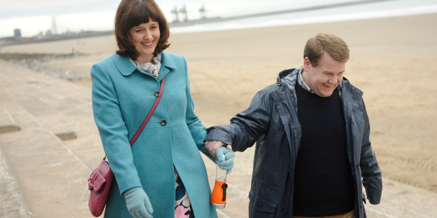 One Chance. Image shows from L to R: Julz (Alexandra Roach), Paul Potts (James Corden).