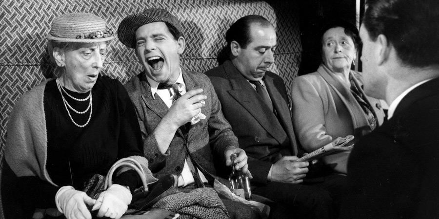 One Good Turn. Image shows from L to R: Unknown, Norman (Norman Wisdom), Unknown, Unknown, Unknown. Copyright: ITV.