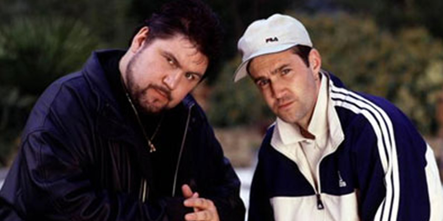 'Orrible. Image shows from L to R: Sean (Ricky Grover), Paul Clarke (Johnny Vaughan).