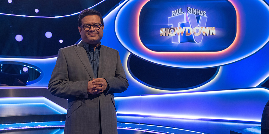 Paul Sinha's TV Showdown. Paul Sinha.