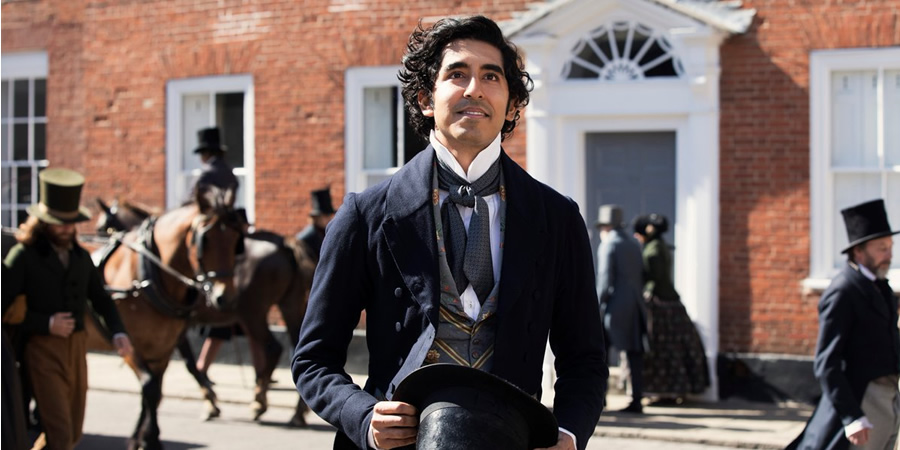 The Personal History Of David Copperfield. David Copperfield (Dev Patel). Copyright: Film4.