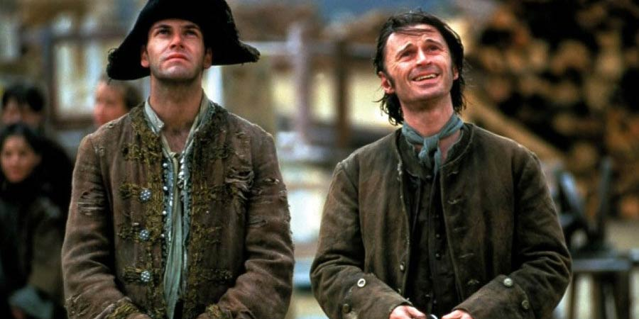 Plunkett & Macleane. Image shows from L to R: Captain James Macleane (Jonny Lee Miller), Plunkett (Robert Carlyle). Copyright: Working Title Films.
