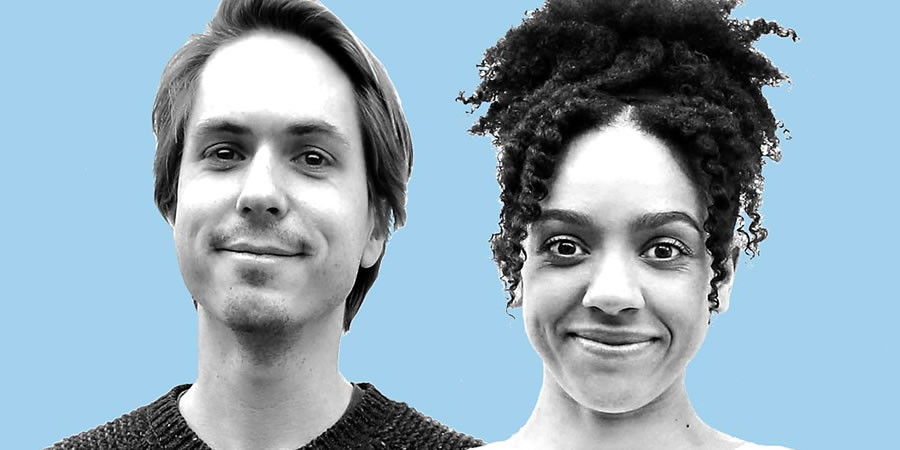 Proposal. Image shows from L to R: Jamie (Joe Thomas), Lucy (Pearl Mackie). Copyright: BBC.