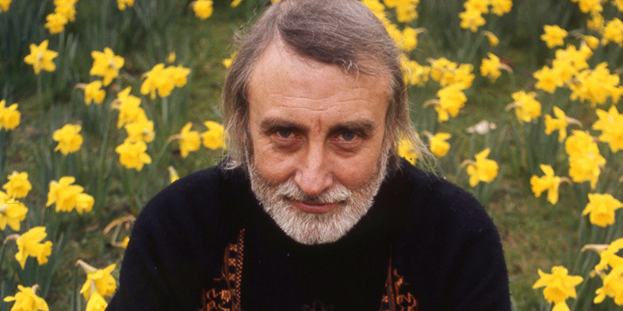 Q. Spike Milligan. Copyright: BBC.