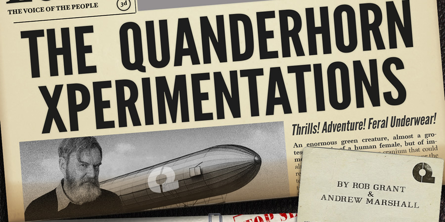 The Quanderhorn Xperimentations. Copyright: ABsoLuTeLy Productions.