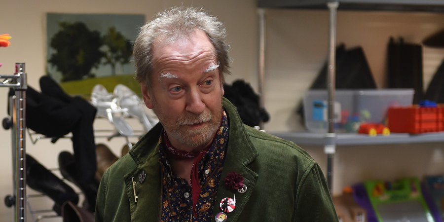 The Rebel. Charles (Bill Paterson). Copyright: Retort.