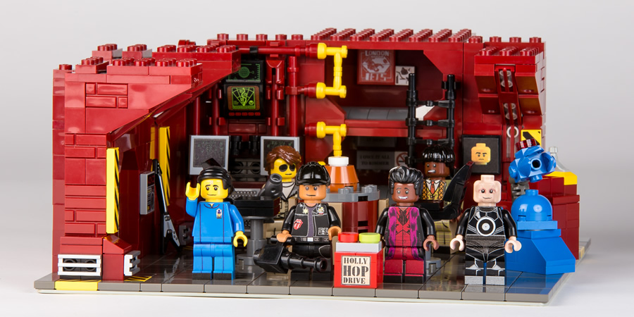Red Dwarf Lego. Copyright: Bob Turner.