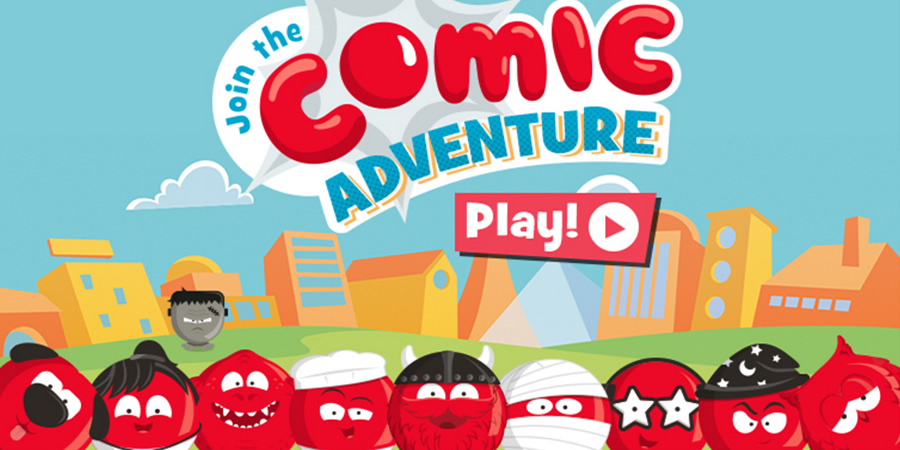 Red Nose Day 2017 - Comic Adventure.