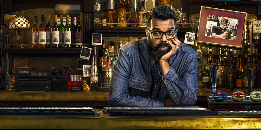 The Reluctant Landlord. Romesh (Romesh Ranganathan). Copyright: What Larks Productions.