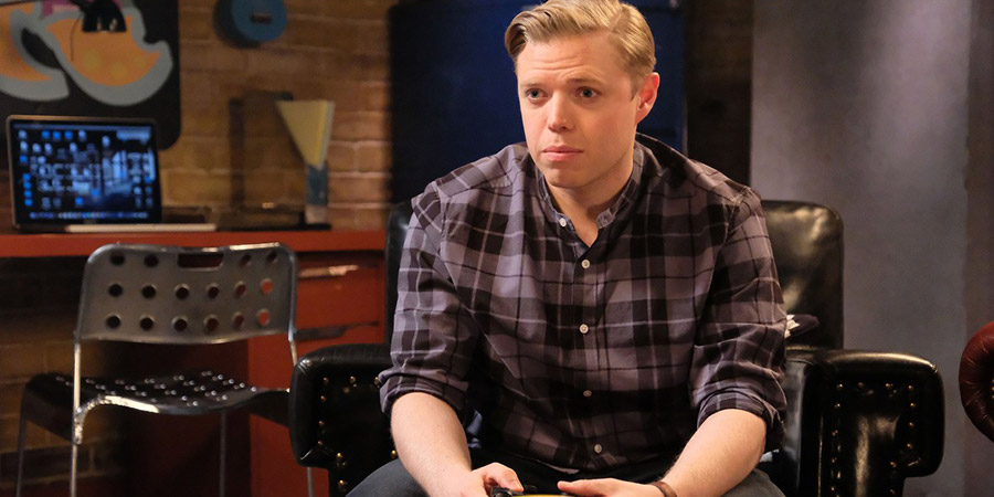 Rob Beckett's Playing For Time. Rob Beckett. Copyright: Rumpus Media.
