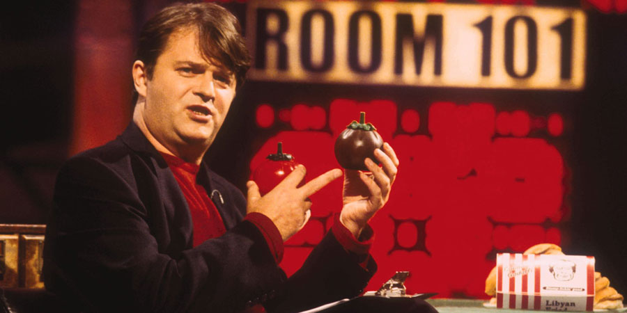 Room 101. Paul Merton. Copyright: Hat Trick Productions.