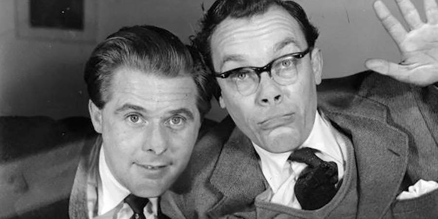 Running Wild. Image shows from L to R: Ernie Wise, Eric Morecambe. Copyright: BBC.