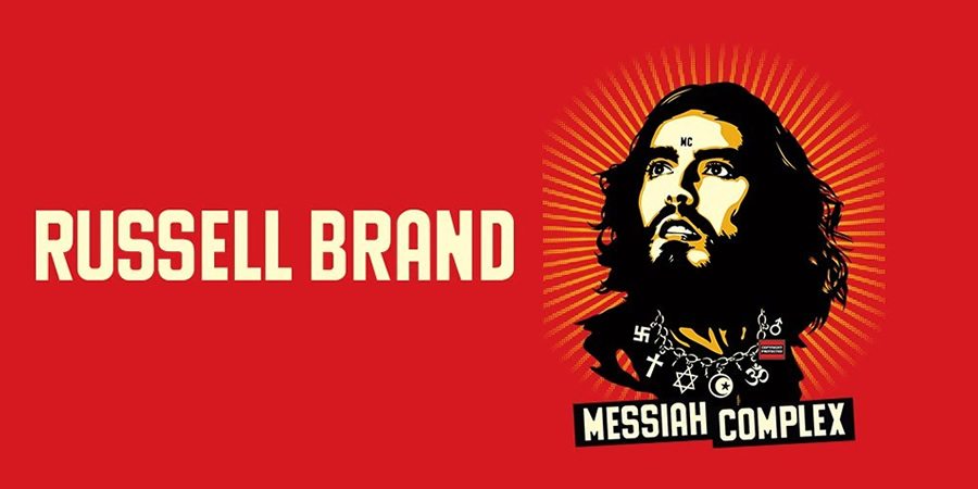 Russell Brand: Messiah Complex.