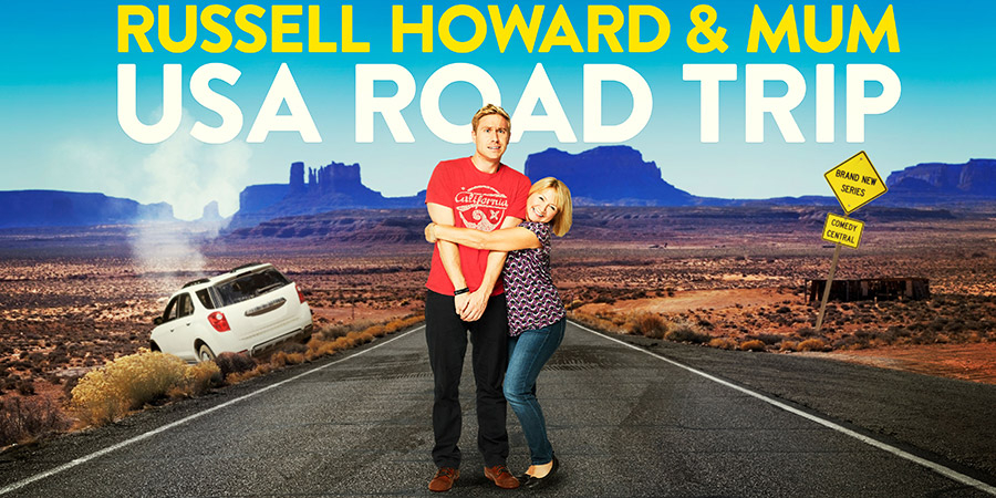 Russell Howard & Mum: Road Trip. Image shows from L to R: Russell Howard, Ninette Howard. Copyright: Avalon Television.