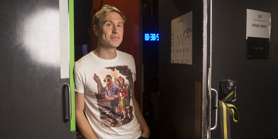 Russell Howard: Recalibrate. Russell Howard. Copyright: Avalon Television.