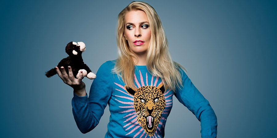 Sara Pascoe: The Modern Monkey. Sara Pascoe. Copyright: BBC.