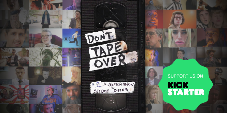 Seldom Differ - Don't Tape Over Kickstarter campaign.