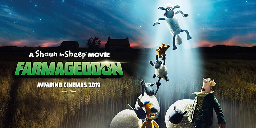 Shaun The Sheep Movie: Farmageddon.