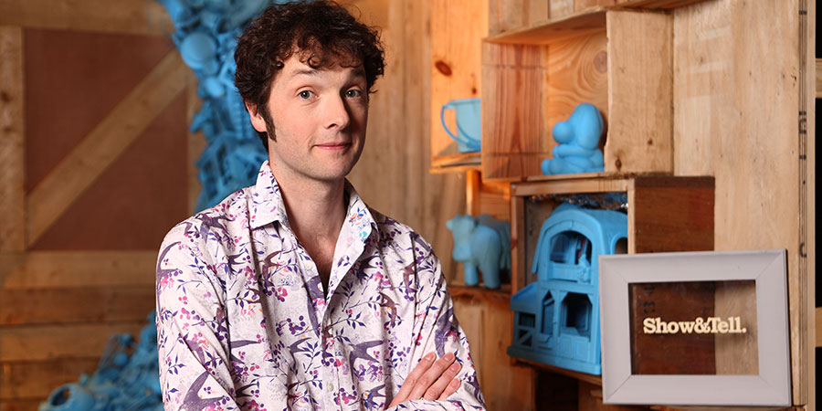 Show & Tell. Chris Addison. Copyright: Tinderbox Television.