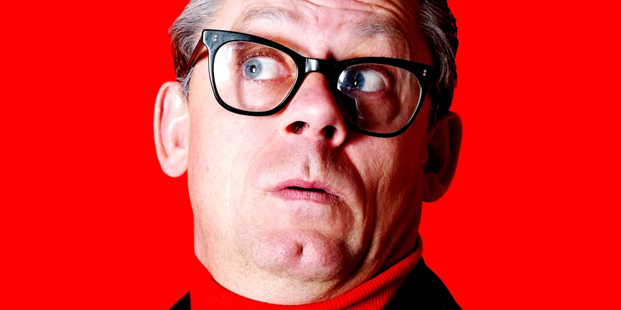 The Shuttleworths. John Shuttleworth (Graham Fellows). Copyright: BBC.