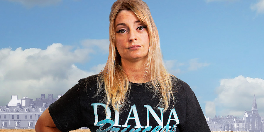 Morgana Robinson's Summer. Mel (Morgana Robinson). Copyright: Merman.