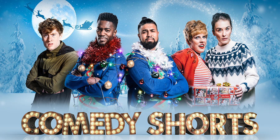 Sky Christmas Comedy Shorts 2017. Image shows from L to R:.