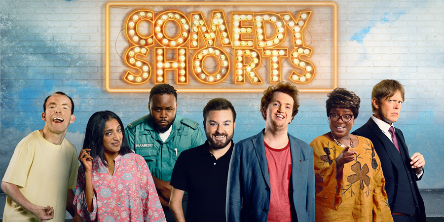 Sky Comedy Shorts 2018. Image shows from L to R:.