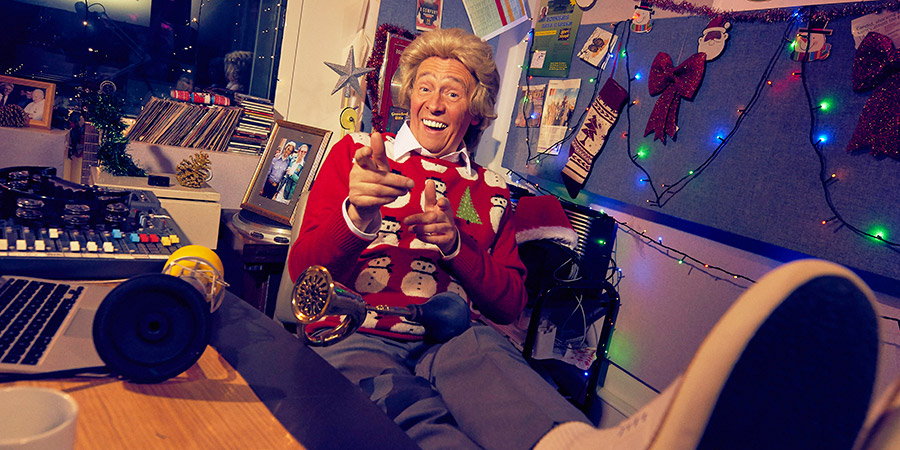 Smashie's Christmastastic Playlist. Mike Smash (Paul Whitehouse).
