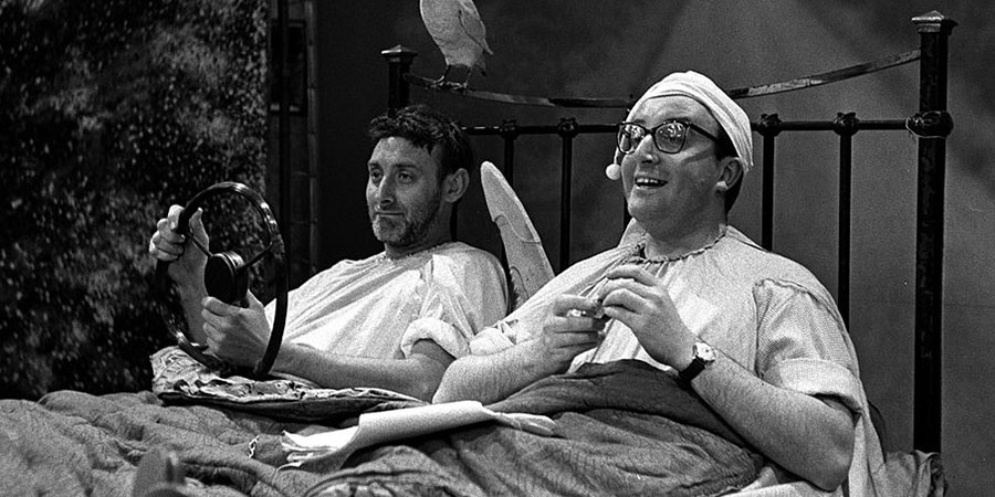 Son Of Fred. Image shows from L to R: Spike Milligan, Peter Sellers. Copyright: Associated-Rediffusion Television.