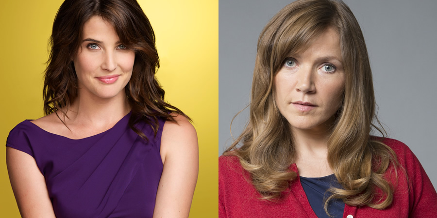 Songbird. Image shows from L to R: Cobie Smulders, Jessica Hynes. Copyright: Unstoppable Entertainment.