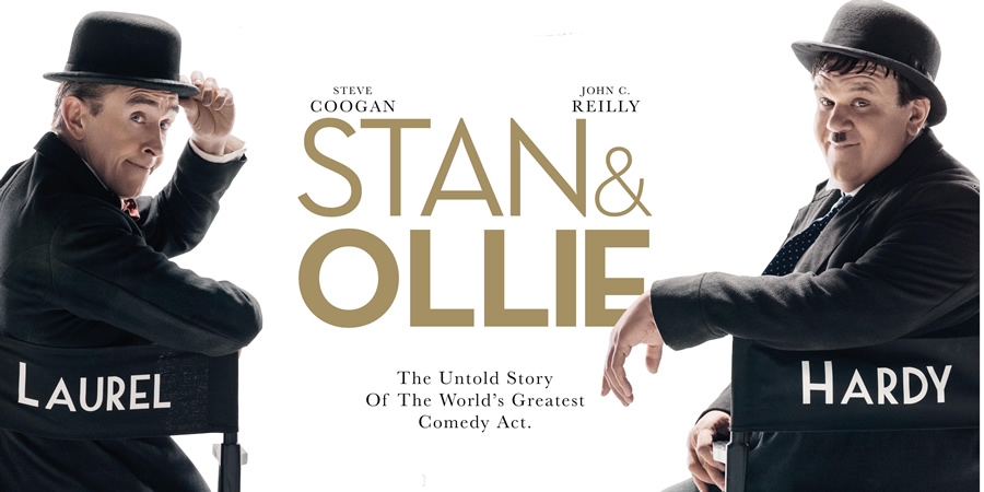 Stan & Ollie. Image shows from L to R: Stan Laurel (Steve Coogan), Oliver Hardy (John C. Reilly).