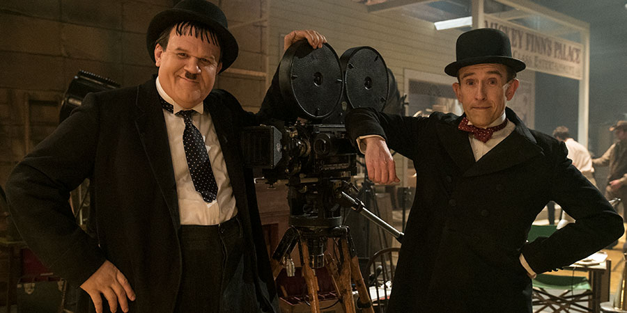 Stan & Ollie. Image shows from L to R: Oliver Hardy (John C. Reilly), Stan Laurel (Steve Coogan).