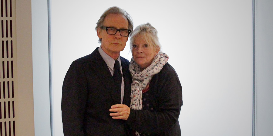 Subterranean Homesick Blues. Image shows from L to R: John (Bill Nighy), Maggie (Anna Calder-Marshall).