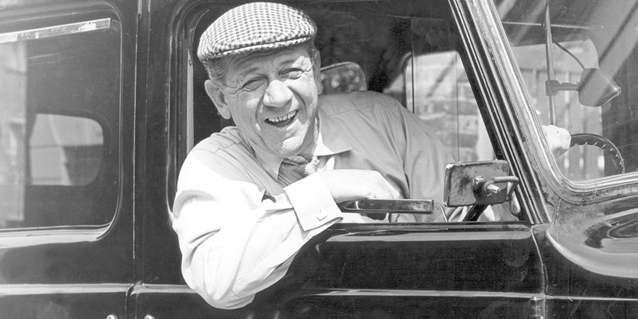 Taxi!. Sid Stone (Sid James). Copyright: BBC.