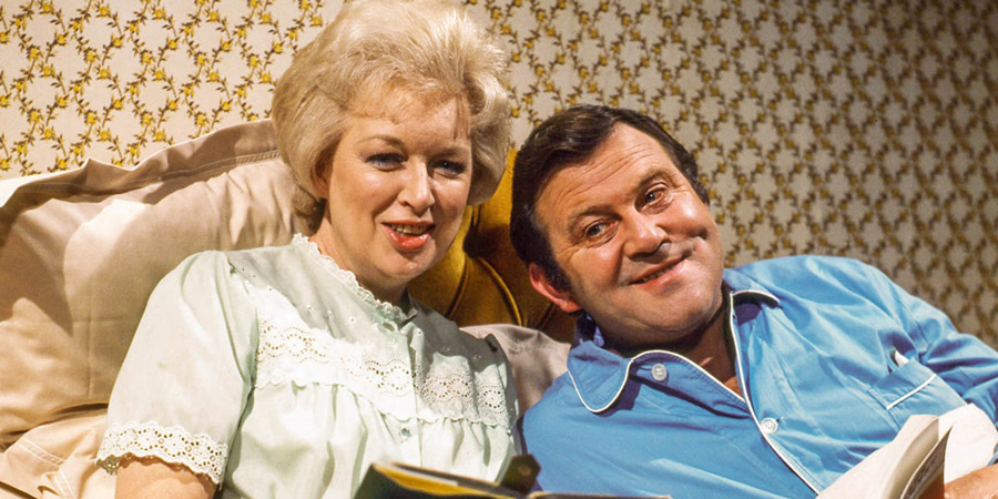 Terry & June. Image shows from L to R: June Medford (June Whitfield), Terry Medford (Terry Scott). Copyright: BBC.