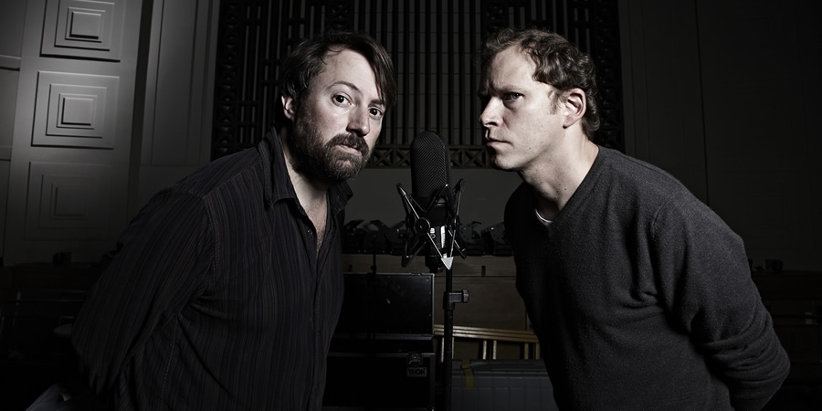 That Mitchell & Webb Sound. Image shows from L to R: David Mitchell, Robert Webb. Copyright: BBC.