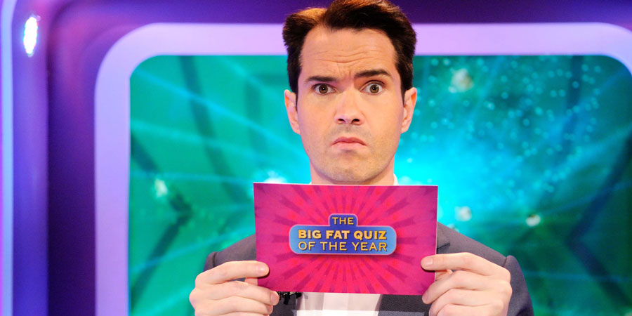 The Big Fat Quiz Of The Year. Jimmy Carr. Copyright: Hot Sauce.
