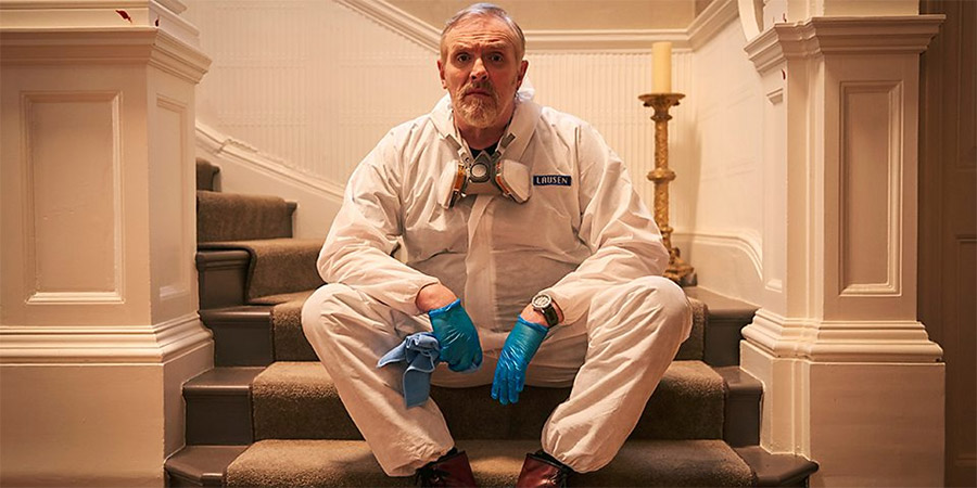 The Cleaner. Paul 'Wicky' Wickstead (Greg Davies).