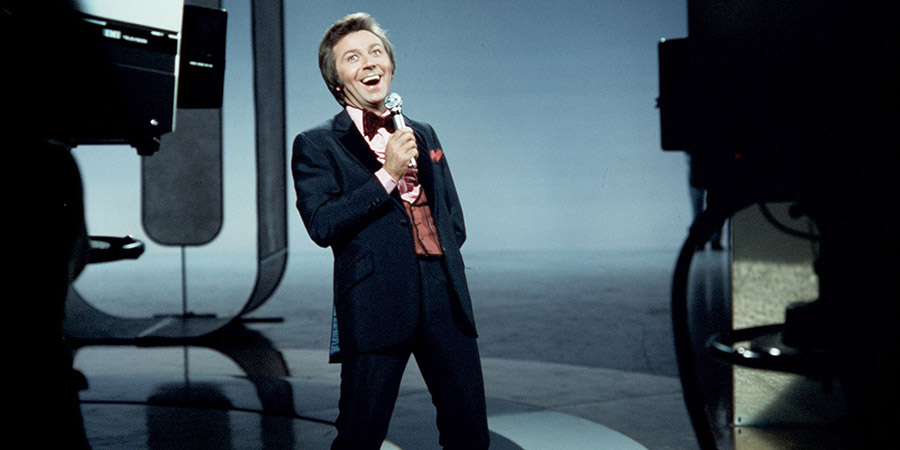 The Des O'Connor Show. Des O'Connor. Copyright: Associated Television.