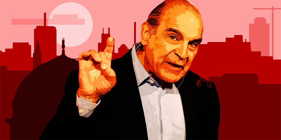 The Devil's Passion. Satan (David Suchet). Copyright: BBC.